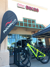 Norco bikes at Calabazas Cyclery